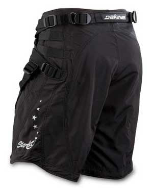 Dakine Startlet shorts, light weight comfy harness suitable for all female riders