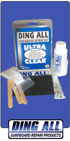 Ding-All Ultra Clear Surfboard Repair Kit