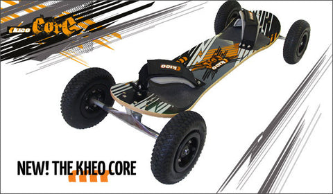 The Kheo Core is an entry level board. Ideal for younger and light weight riders up to 70kg.