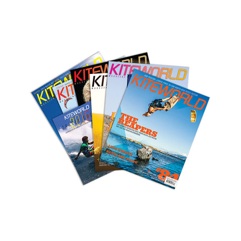 Latest Kiteworld Magazine + #back issues for $5