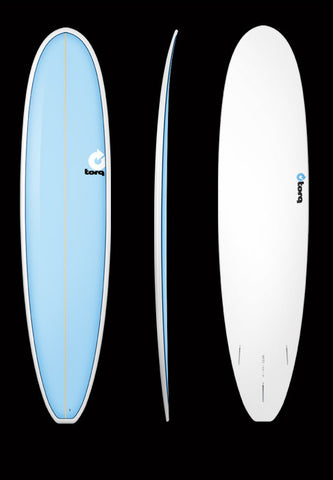 Appealing to those who are looking for more volume and better glide than a funboard, but aren't interested in a full-size longboard.