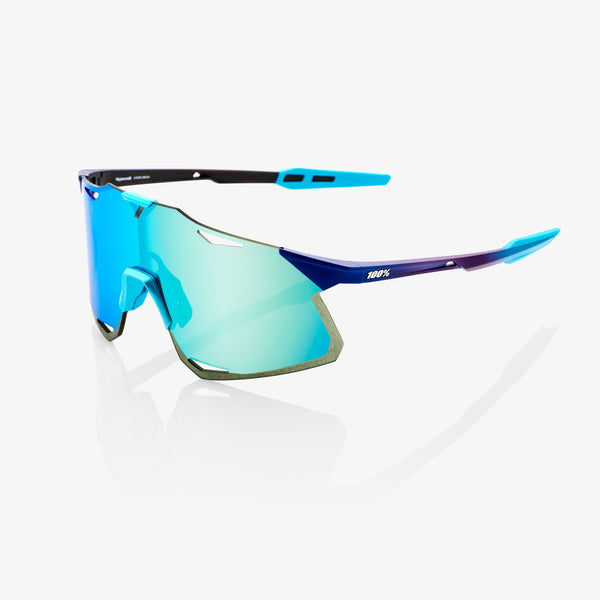 100% HypercraftMatte Metallic Into the Fade Blue Topaz Multilayer Mirror Lens