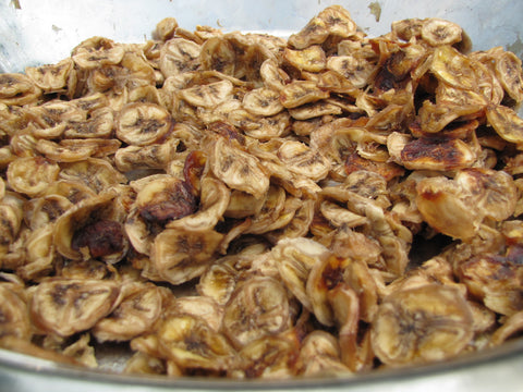 Banana Slices - Sun-dried  (Sukkeli)