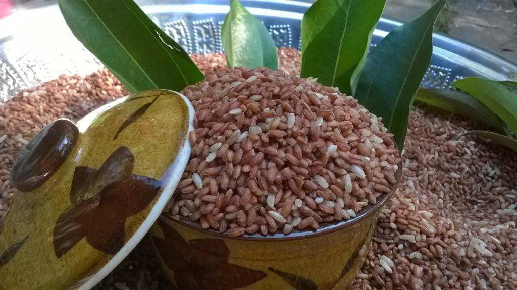Unpolished Organic Red Rice.    Currently unavailable