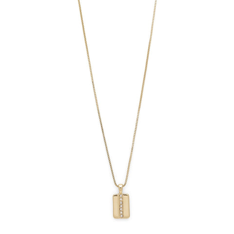 Necklace : Zora_PI : Gold Plated : Crystal Product ID: 171832001 - PANTE