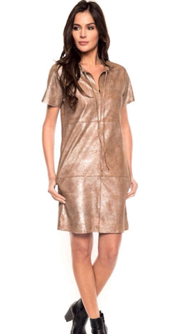 Nalia Leather Dress - PANTE