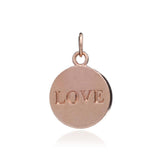 """Love"" disc bangle"