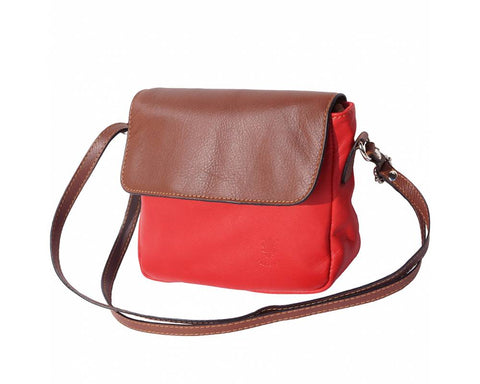 SOFT LEATHER SHOULDER BAGCompact - PANTE