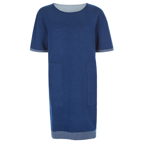 Silk Cashmere short dress - PANTE