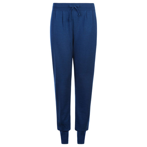 WOMENS CASHMERE AND SILK LOUNGE PANTS - PANTE