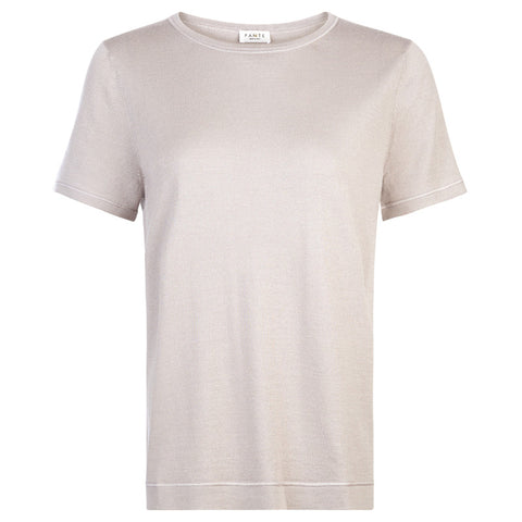 CASHMERE AND SILK T- SHIRT Pante - PANTE