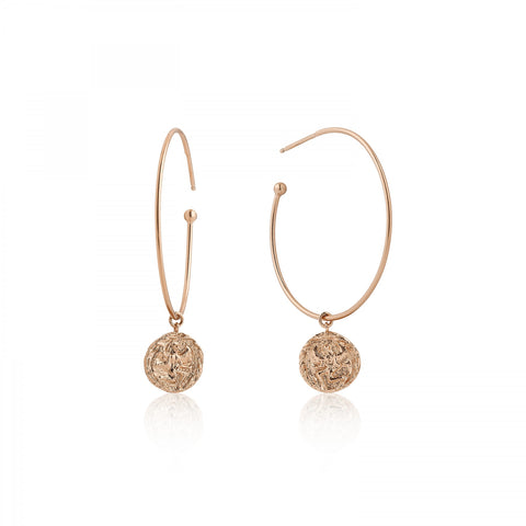 COINS HOOP EARRINGS - PANTE