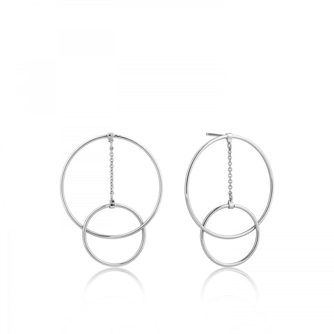 MODERN FRONT HOOP EARRINGS - PANTE