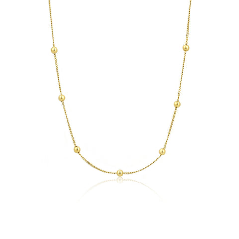 MODERN MINIMALISM BALL CHAIN NECKLACE - PANTE