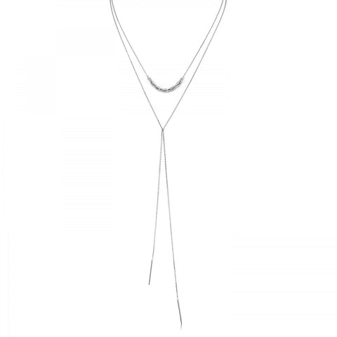 Links Lariat Necklace - PANTE