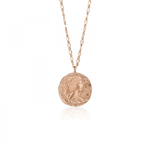 Coins Roman Empress Necklace - PANTE
