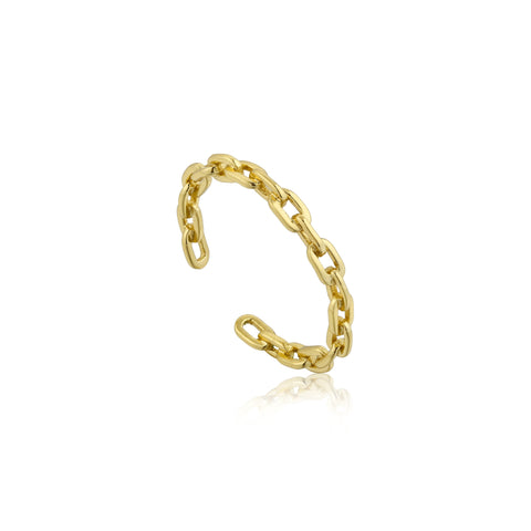 LINKS CHAIN OPEN RING - PANTE