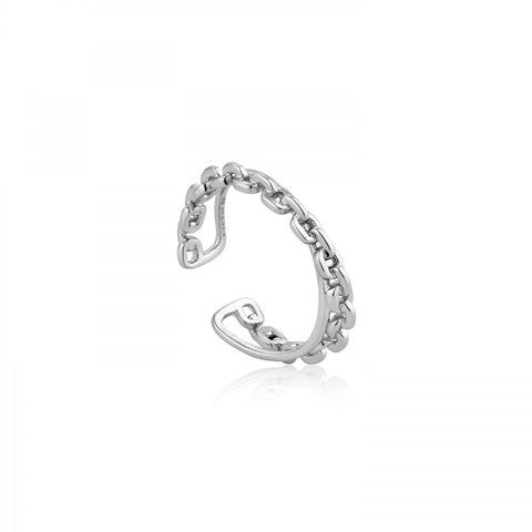CHAIN DOUBLE CROSSOVER RING - PANTE