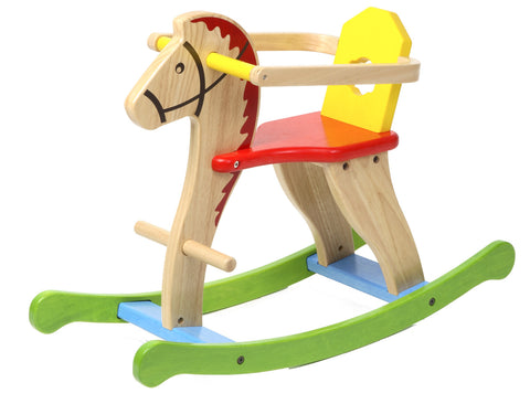MY ROCKING HORSE WITH CHILD GUARD