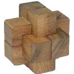 6 Pieces Burr Puzzle