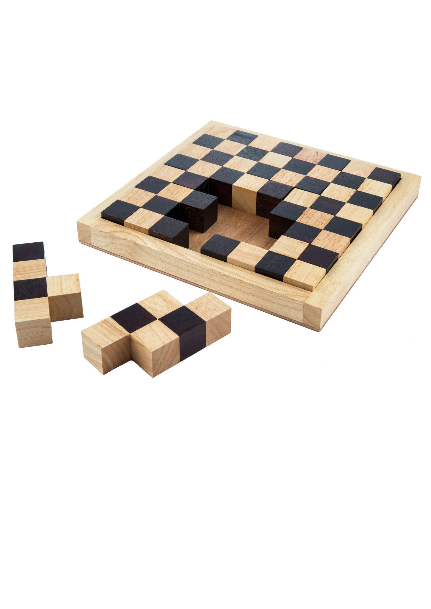 Chess Board And More Puzzle Gaya Game
