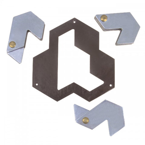 Huzzle Cast Hexagon (****)