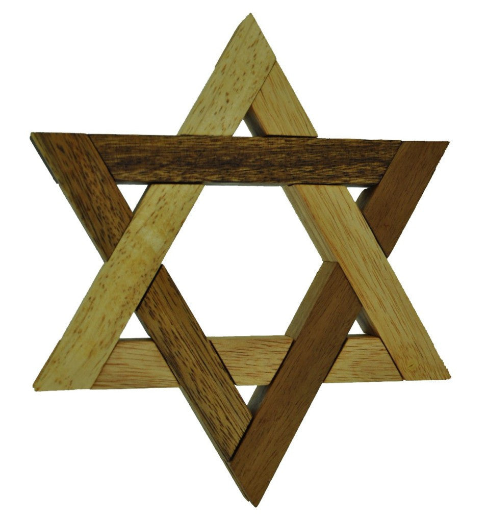 Star Of David interlock Puzzle
