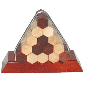 Hexagon pyramid