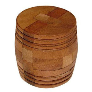 Barrel Burr Puzzle
