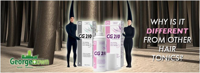 Abbott CG210, or CG 210...What is it, how is it different from other hair tonics?