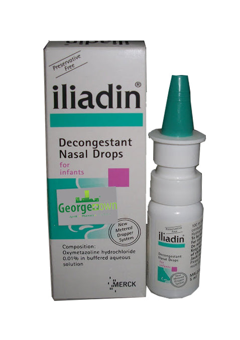 Example of a nasal decongestant