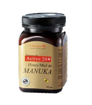 OREGAN ACTIVE 20+ MANUKA HONEY 500G