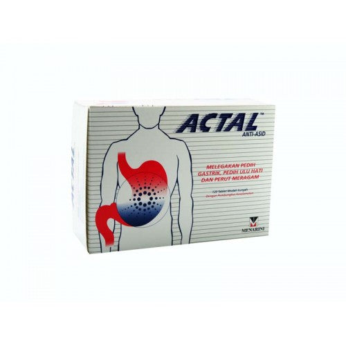 Actal Anti-Acid 10 tabx12 strips