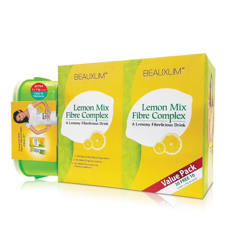 Beauxlim Lemon Mix Fibre Complex 30Free10