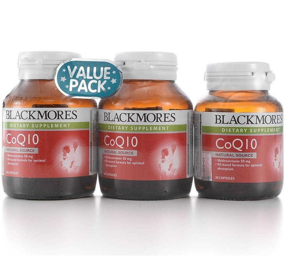 Blackmores Co-Q10 50mg 2x60's Free 30's