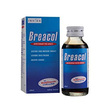 Breacol Adult Cough Syrup 120ml