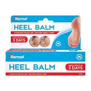 DERMAL THERAPY HEEL BLAM 50G