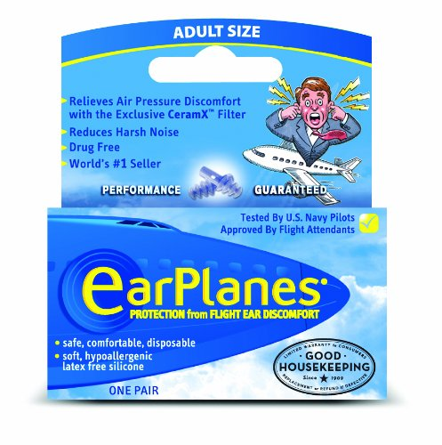 EarPlanes Adult (one pair)