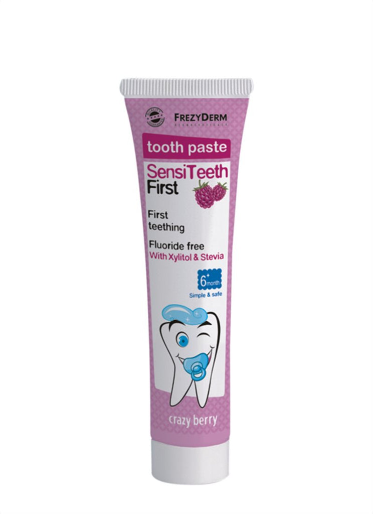 Frezyderm Tooth Paste SensiTeeth First (CRAZY BERRY) 6M+40ML