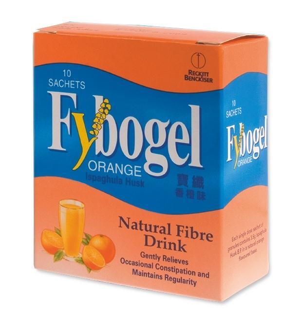 Fybogel Orange Box Of 10's