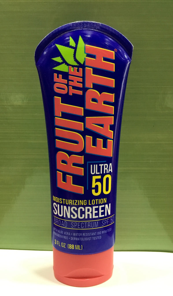 Fruit of The Earth Moisturising Lotion Sunscreen Ultra 50 88ml