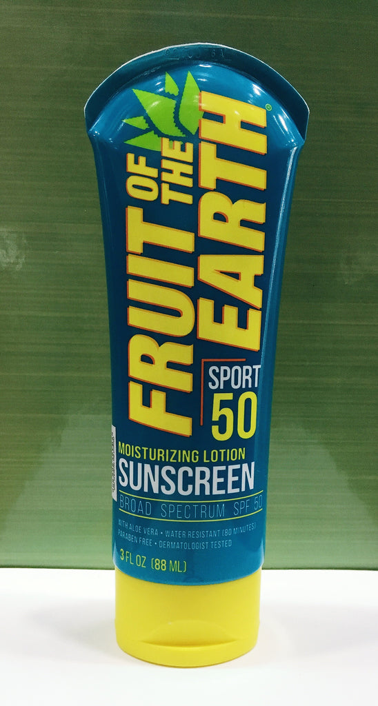 Fruit Of The Earth Sport 50 (Moisturizing Lotion Sunscreen) 88ml