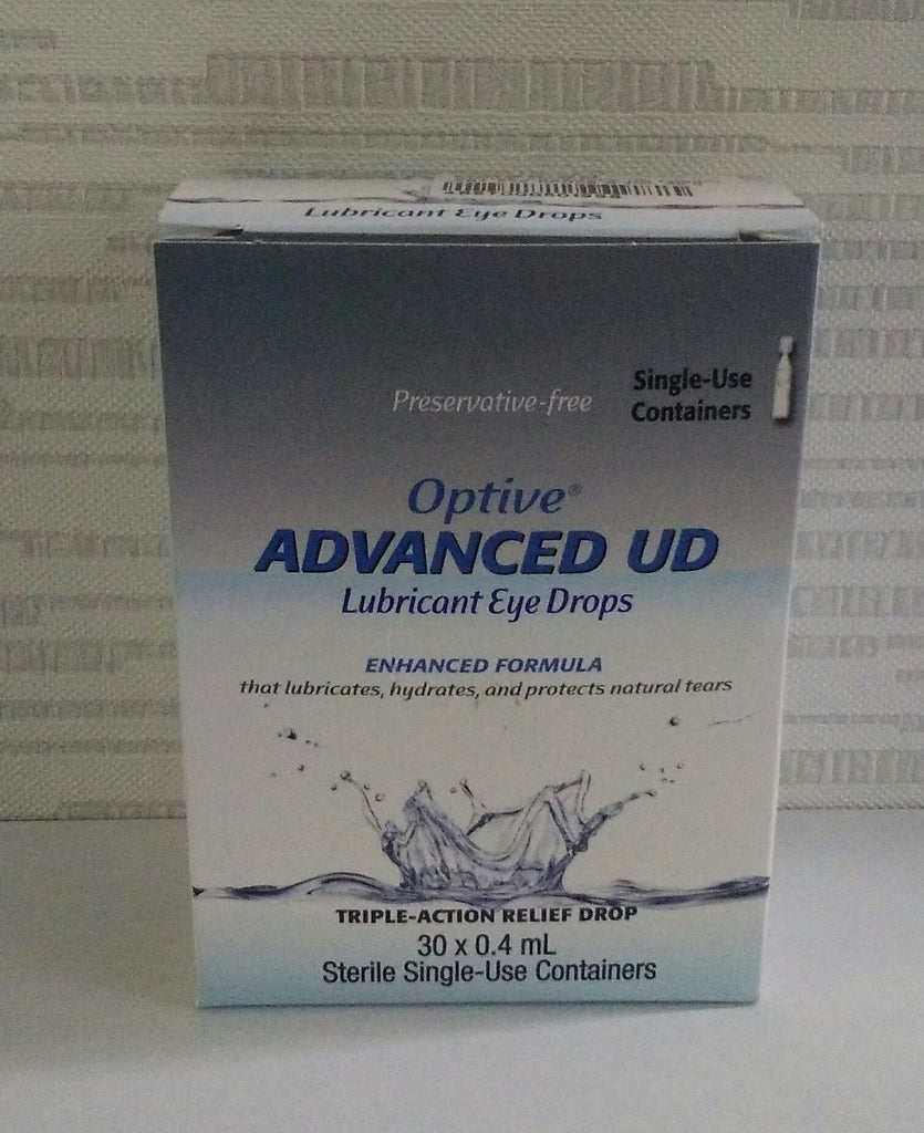 Optive Advanced UD Lubricant Eye Drops 0.4mlx30's