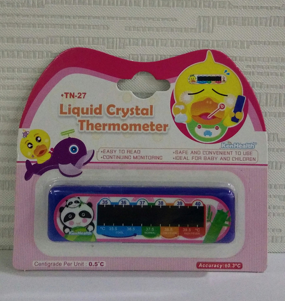 Liquid Crystal Thermometer  (For kids)