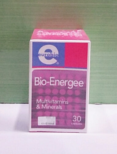 Eurobio Bio-Energee Multivitamins and Minerals 30's