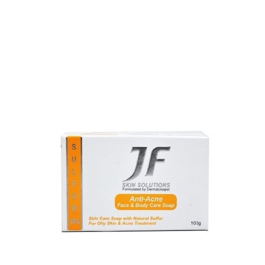 Jf Sulphur 10% Soap 100G Anti Acne