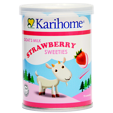 Karihome Goat's Milk Strawberry Sweeties 70's