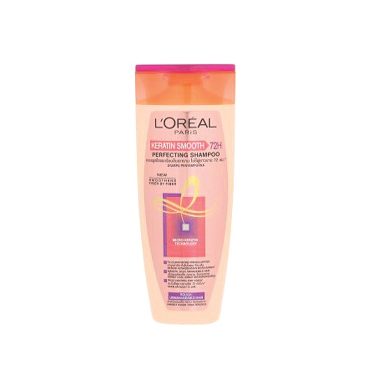 L'OREAL PARIS KERATIN SMOOTH PERFECTING SHAMPOO 170ML