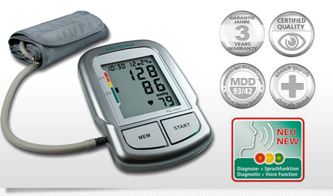 Upper arm blood pressure monitor Medisana MTC