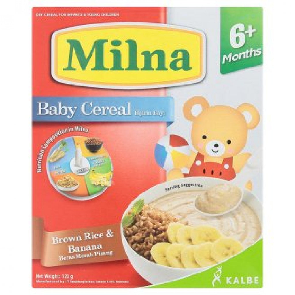 Milna Baby Cereal 6+ Month 120g